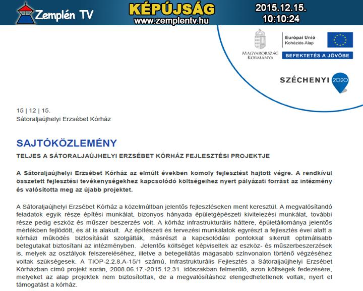 TIOP 228 SAJTOKOZLEMENY_ERZSEBET_KORHAZ_20151215