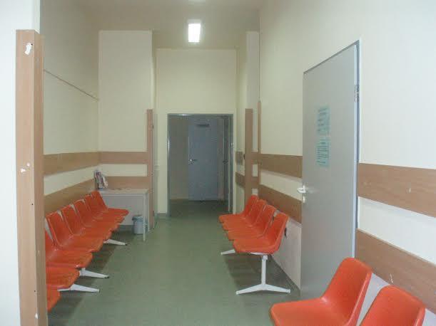 Ambulanciák várófolyosója